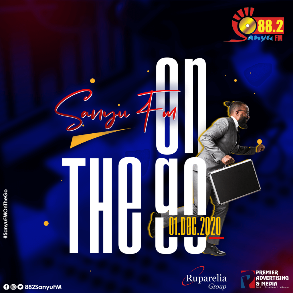 Sanyu FM 88.2 on the go