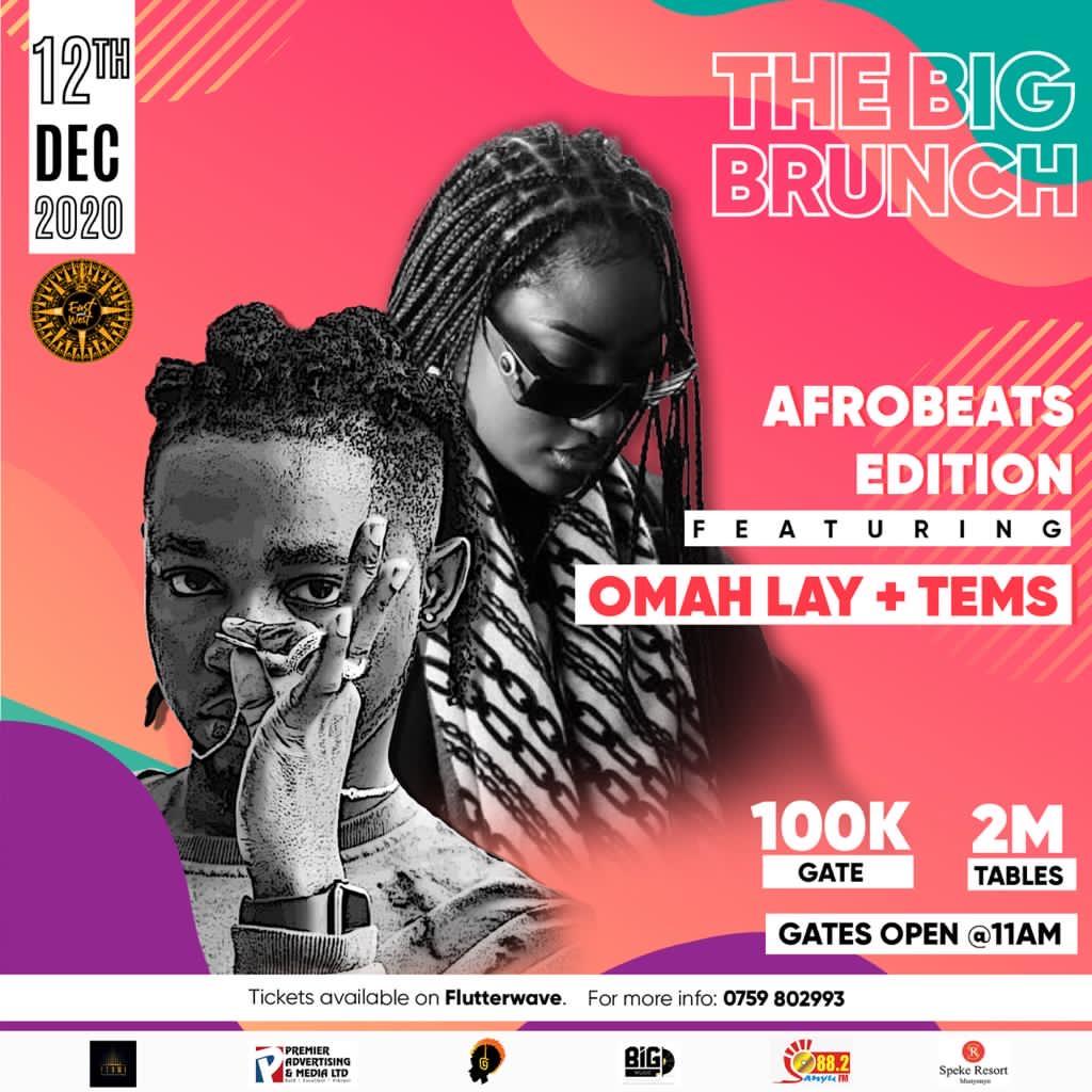 Sanyu FM - The Big Brunch- Omah Lay - Afrobeats Edition