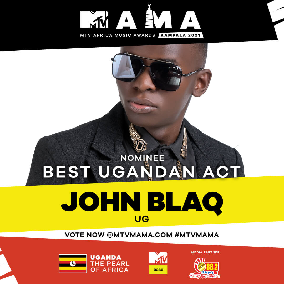 Vote for your best Ugandan act at the MTVMAMA 2021 - Sanyu FM