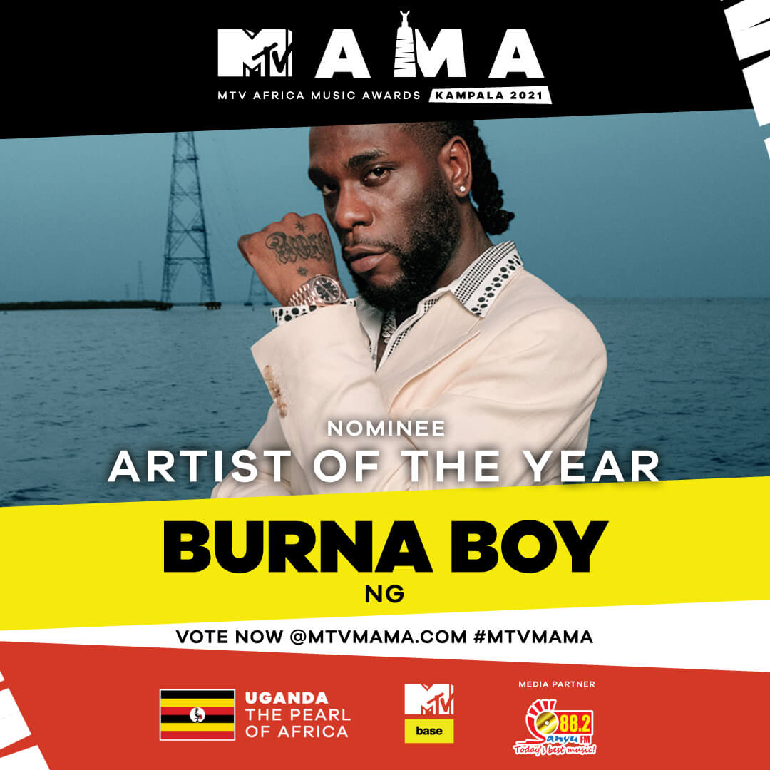 Vote for your artist of the year at the mtvmama 2021 ...