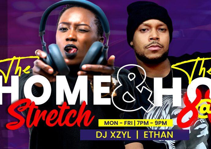 Sanyu FM- The home stretch - The hot 8 at 8 by Dj Xzyl & Ethan Kavuma